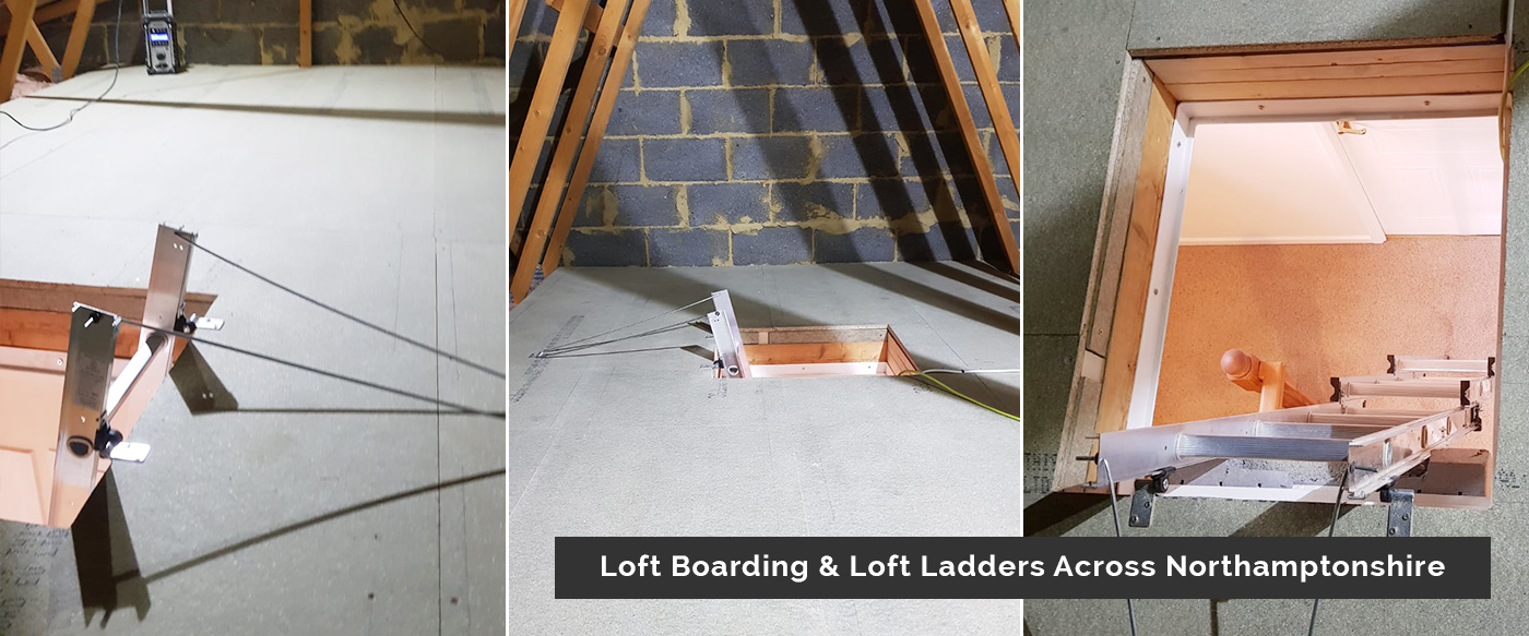 Loft Boarding and Loft Ladders In Northamptonshore -Ignite Property Services